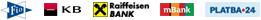 loga bank ve kterých můžete platiti okamžitým převodem na eshop hyla