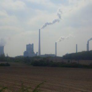 Znečištění ovzduší od elektráren