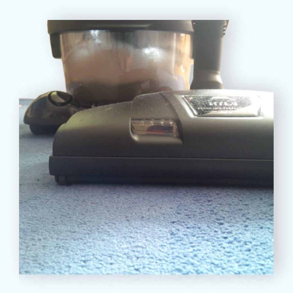 Vodní vysavač Hyla klepač Hyla čistí koberec do hloubky