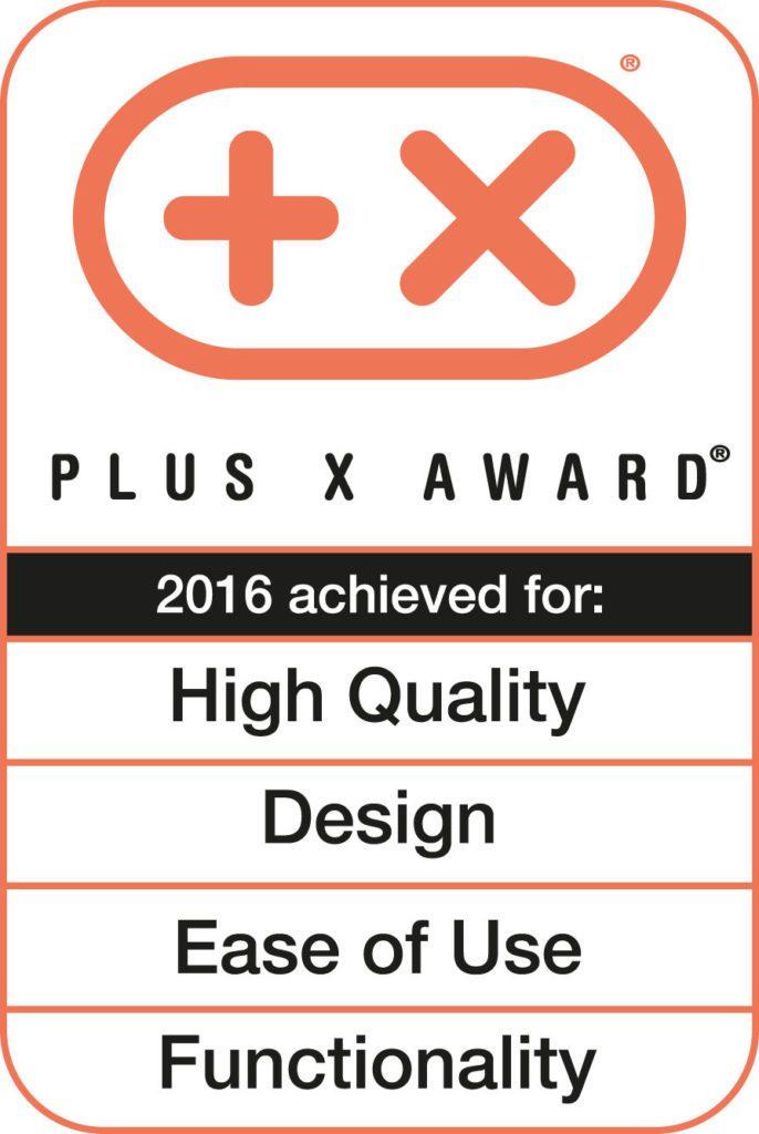 Ocenění Vysoká kvalita, Design,jednoduchost použití aFunkčnost pro Hylu GST aEST
