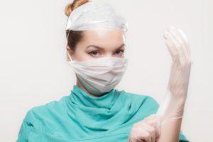 Prevence před koronavirus lékařka