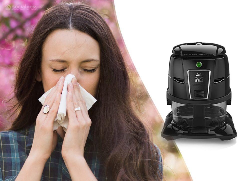rýma chřipka kašel není problém s vodním vysavačem hyla paní smrká