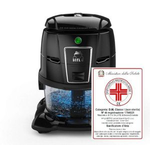 Hyla est vodní vysavač pomáhá jako zdravotní pomůcka při alergii aastmatu
