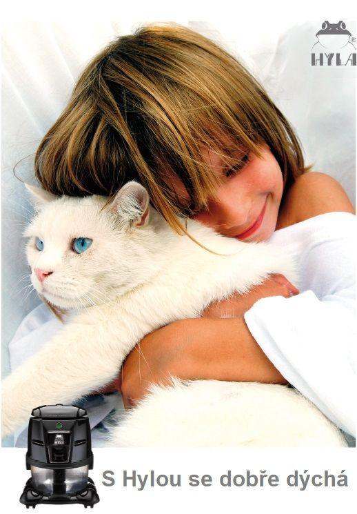 Kočka alergik hyla