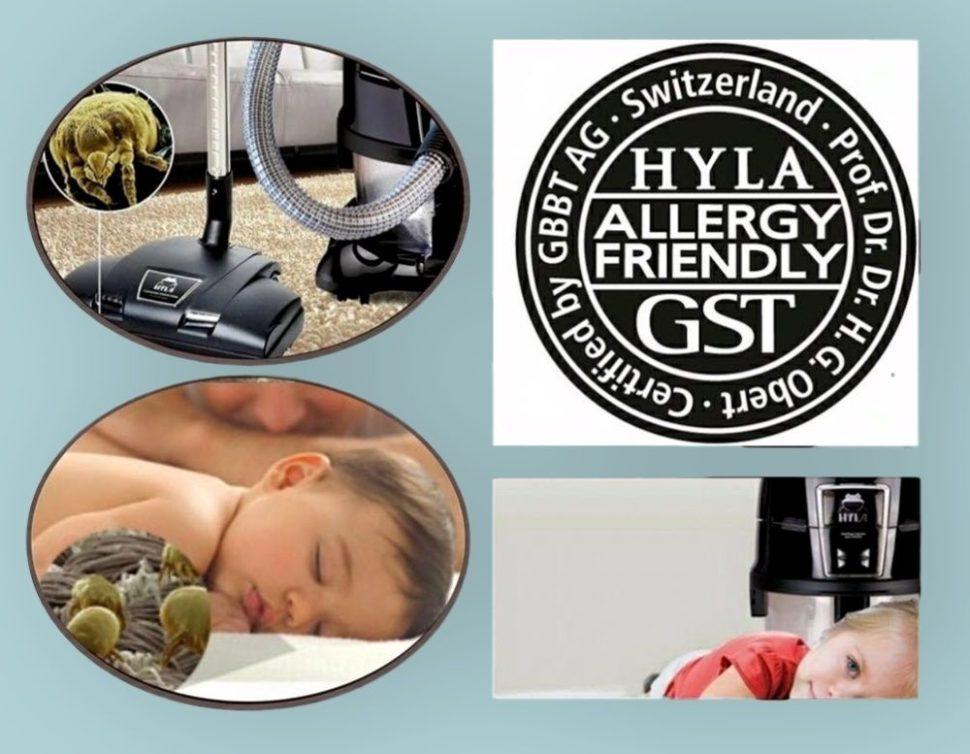 vodní vysavač hyla certifikát pro alergiky