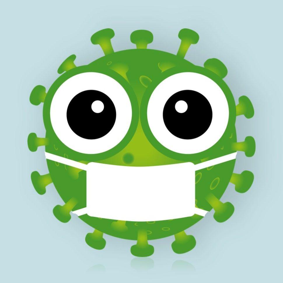 koronavirus likvidovavaný při úklidu vodním vysavačem hyla