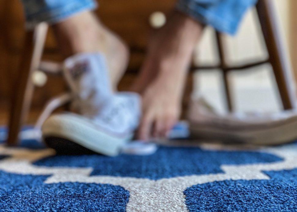 Fleková lékárny pro koberec