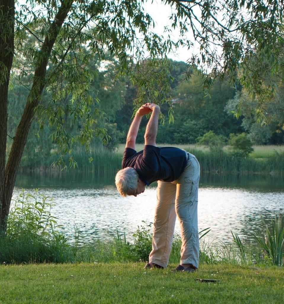 cvičte načerstvém vzduchu - doma ho dodá hyla